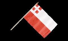 Stockflagge Niederlande Utrecht - 30 x 45 cm