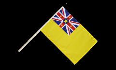 Stockflagge Niue