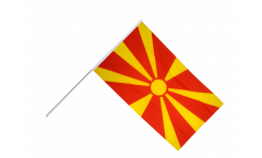 Stockflagge Mazedonien - 60 x 90 cm
