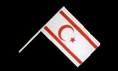 Stockflagge Nordzypern - 60 x 90 cm