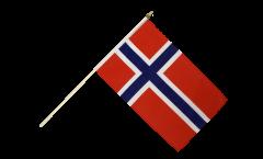 Stockflagge Norwegen