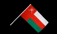Stockflagge Oman - 60 x 90 cm