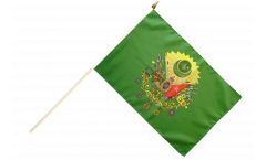 Stockflagge Osmanisches Reich Wappen - 30 x 45 cm