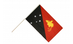 Stockflagge Papua-Neuguinea - 60 x 90 cm