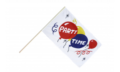Stockflagge Party Time - 60 x 90 cm