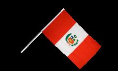 Stockflagge Peru - 60 x 90 cm