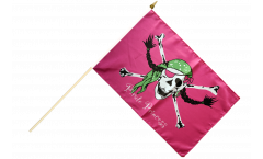 Stockflagge Pirat Pirate Princess Prinzessin - 30 x 45 cm
