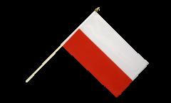 Stockflagge Polen