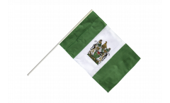 Stockflagge Rhodesien - 60 x 90 cm