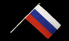 Stockflagge Russland