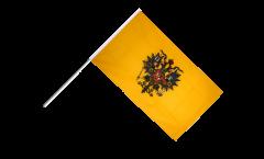 Stockflagge Russland Zar Nikolaus - 60 x 90 cm
