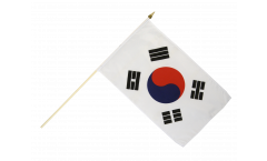 Stockflagge Südkorea