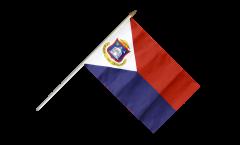 Stockflagge Saint-Martin - 30 x 45 cm