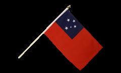 Stockflagge Samoa