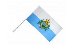Stockflagge San Marino - 60 x 90 cm