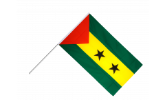 Stockflagge Sao Tome und Principe