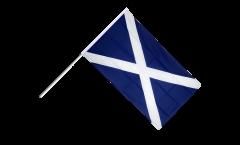 Stockflagge Schottland - 30 x 45 cm