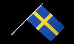 Stockflagge Schweden