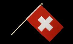 Stockflagge Schweiz - 30 x 45 cm