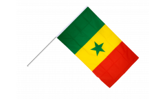Stockflagge Senegal
