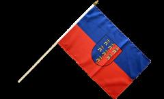 Stockflagge Siebenbürger Sachsen - 30 x 45 cm