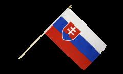 Stockflagge Slowakei