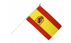 Stockflagge Spanien