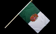 Stockflagge Spanien Fuerteventura - 30 x 45 cm