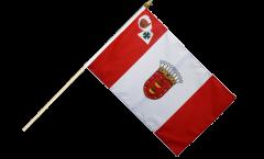 Stockflagge Spanien La Gomera - 30 x 45 cm