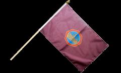 Stockflagge Spanien Stadt Cordoba - 30 x 45 cm