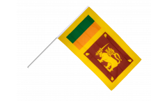 Stockflagge Sri Lanka