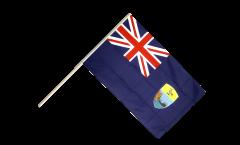 Stockflagge St. Helena - 60 x 90 cm