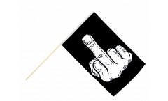 Stockflagge Stinkefinger - 60 x 90 cm