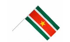Stockflagge Surinam