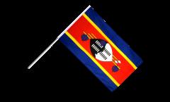 Stockflagge Swasiland