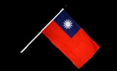 Stockflagge Taiwan