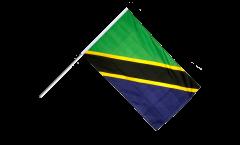 Stockflagge Tansania