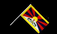 Stockflagge Tibet - 60 x 90 cm