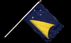 Stockflagge Tokelau - 30 x 45 cm