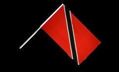 Stockflagge Trinidad und Tobago - 60 x 90 cm