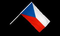 Stockflagge Tschechische Republik - 60 x 90 cm