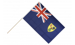 Stockflagge Turks- und Caicosinseln - 60 x 90 cm