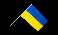 Stockflagge Ukraine - 60 x 90 cm