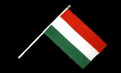 Stockflagge Ungarn - 30 x 45 cm