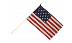 Stockflagge USA