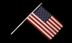 Stockflagge USA