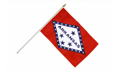 Stockflagge USA Arkansas - 30 x 45 cm