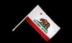 Stockflagge USA Kalifornien - 60 x 90 cm