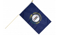 Stockflagge USA Kentucky - 30 x 45 cm