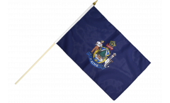 Stockflagge USA Maine - 30 x 45 cm